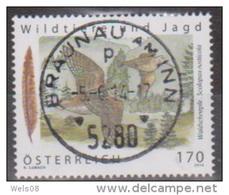 """Österreich 2014: """"Wildtiere Und Jagd""""  Gestempelt (siehe Foto/Scan) - 1945-.... 2. Republik"""