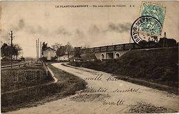 CPA Le Plant Champigny - Un Coin Route De Villiers (275441) - France