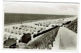 Carte Photo 1948 - Bergen Aan Zee - Het Vrij Strand - Uitg. Fa. Passer- 2 Scans - Nederland