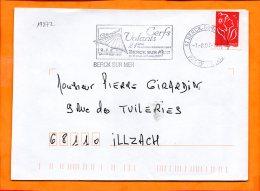 PAS De CALAIS, Berck Plage, Flamme SCOTEM N° 19872, Cerfs Volants 21e Rencontres - Poststempel (Briefe)