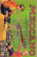 MECCANO - CATALOGUE N° 4- USINES A BOBIGNY- 1947-GRUE LOCOMOTIVE-AVION HYDRAVION-CAMION-TRACTEUR-SULKY-MANEGE-TANK - Meccano