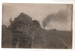 Nr.  9077,  FOTO-AK,  1914-18, Deutsche Soldaten Mit Dem Zug Durch Russland - Oorlog 1914-18