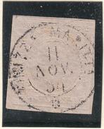 Sardegna - 1853 - 40 Cent. Rosa Chiaro - Sardegna