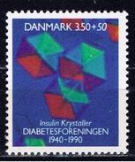 DK+ Dänemark 1990 Mi 985 Mnh Diabetes - Denmark