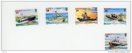 Jersey 2002-Bateaux De Sauvetage-Jersey-YT 1010/14***MNH-faciale - Ships