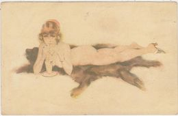 Suzanne Meunier.En Costume D'Eve.Série No26. - Meunier, S.