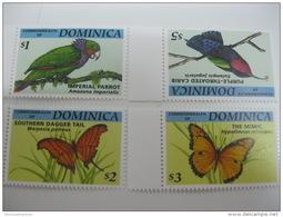 Dominica-Butterflies Orchids - Schmetterlinge
