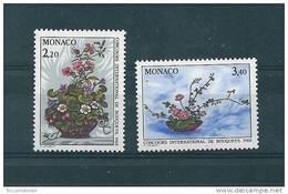 Monaco Timbres De 1987  Neufs** N°1597/98  Fleurs - Monaco