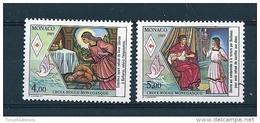 Monaco Timbres De 1989  Neufs ** Sans Charnière  N°1691/92 Croix Rouge - Nuovi