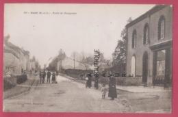49 - GESTE---Route De Beaupréau--animé----pas Courante - Otros Municipios