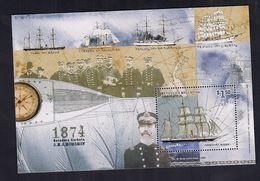 Argentina Bloque Rescate De La Expedicion Antartica Sueca 1999 - Navires & Brise-glace