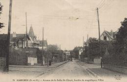 CPA 92 - Garches - Avenue De La Selle Saint Cloud Bordée De Magnifiques Villas - Garches