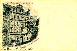 AG 576 / C P A  - AUTRICHE  -  PIETZNERHAUS KARLSBAD - Altri