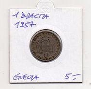Grecia - 1957 - 1 Dracma - (MW307) - Grecia