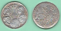 Grecia 30 Dracme 1963 Greek Dinasty Silver Coin - Grecia