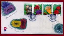 NAMIBIA, 2001, Mint F.D.C. Sea Anemones, MI Nr. 3-29, F3655 - Namibië (1990- ...)