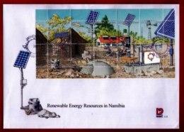 NAMIBIA, 2001, Mint F.D.C. Renewal Energy Resources, MI Nr. 3-31ms, F3657 - Namibië (1990- ...)