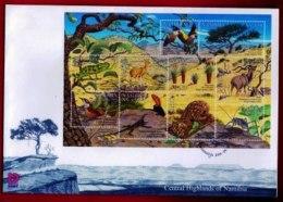 NAMIBIA, 2001, Mint F.D.C. Central Highlands, MI Nr. 3-32, F3658 - Namibia (1990- ...)