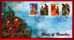 NAMIBIA, 2002, Mint F.D.C. Birds Of Namibia, MI Nr. 3-33, F3660 - Namibia (1990- ...)
