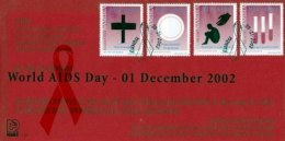 NAMIBIA, 2002, Mint F.D.C. Healthcare (aids), MI Nr. 3-35, F3662 - Namibia (1990- ...)