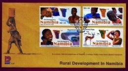 NAMIBIA, 2003, Mint F.D.C. Rural Development, MI Nr. 3-37, F3664 - Namibia (1990- ...)