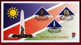NAMIBIA, 2003, Mint F.D.C. Heroes Acres, MI Nr. 3-39, F2429 - Namibia (1990- ...)
