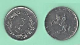 Turchia 5 Lira 1975 - Turchia