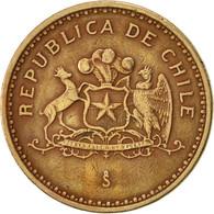 Chile, 100 Pesos, 1987, Santiago, TTB, Aluminum-Bronze, KM:226.1 - Chile