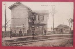 54 - AGINCOURT----La Gare--animé - France