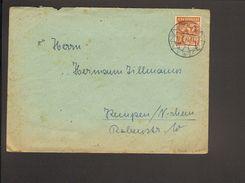 Alli.Bes.24 Pfg.Arbeiter Auf Brief V.1948 Aus Borghorst - American,British And Russian Zone