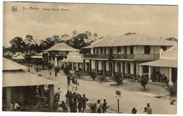 Congo - Kindu - Avenue Baron Dhanis - Animée - Edit. S.N. Wellington - 2 Scans - Congo Belge - Autres