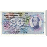 Suisse, 20 Franken, 1969, KM:46q, 1969-01-15, TTB - Suiza
