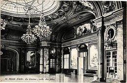 CPA Ed. AQUA 15 Monaco MONTE CARLO Le Casino, Salle Des Fetes (214386) - Autres Collections