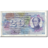 Suisse, 20 Franken, 1971, KM:46s, 1971-02-10, TB+ - Switzerland