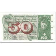 Suisse, 50 Franken, 1972, KM:48l, 1972-01-24, SPL - Switzerland
