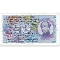 Suisse, 20 Franken, 1972, KM:46t, 1972-01-24, TTB+ - Suiza
