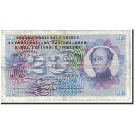 Suisse, 20 Franken, 1970, KM:46r, 1970-01-05, TB - Switzerland