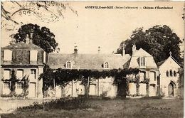 CPA ANNEVILLE-sur-SCIE - Chateau D'Écorchebouef (199587) - France