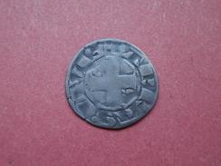 """Denier Parisis """"Philippe II Auguste"""" 2em. Type, Arras. - 1180-1223 Philippe II Auguste"""