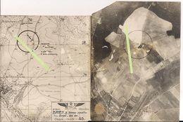 Briey Meurthe Et Moselle Terrain D'aviation Vue Aérienne 2eme Armée Spa Poilu 14-18 WWI Ww1 1wk 1914-1918 - War, Military
