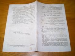Mâcon 1831: Villes & Communes De Saône Et Loire Assujetties à La Vérification Annuelle Des Poids Et Mesures : - Historical Documents