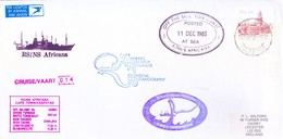 SOUTH AFRICA ANTARCTIC EXPEDITION COVER, 1983 - SPECIAL CANCELLATIONS - Covers & Documents