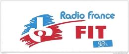 Autocollant / Sticker / Aufkleber - Radio France : FIT (Toulouse) 98.5 - Adesivi