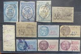 Stamps Of Francia - Estampillas Fiscales De Francia - Prosecutors Of France - Fiscali