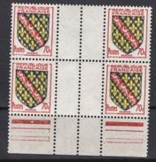 FRANCE 1955 - BLOC DE 4  Y.T. N° 1045 - NEUFS** /Y118 - France