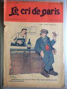 Le Cri De Paris 1er Mai Temps Nouveaux Cafe Bistrot Vichy Pub Romans 1er Mai 1927 - Journaux - Quotidiens