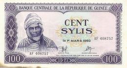 Guinea - 100 Sylis 1971 XF - Guinée