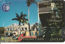 CARTE-MAGNETIQUE-ANTIGUA & BARBUDA-NELSON DOCKGARD- BE - Antigua And Barbuda