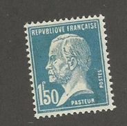 FRANCE - N°YT 181 NEUF* AVEC CHARNIERE - COTE YT : 6.10€ - 1923/26 - 1922-26 Pasteur