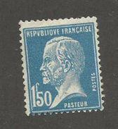 FRANCE - N°YT 181 NEUF* AVEC GOMME ALTEREE - COTE YT : 6.10€ - 1923/26 - 1922-26 Pasteur
